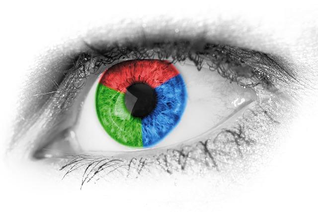 Tříbarevné oko