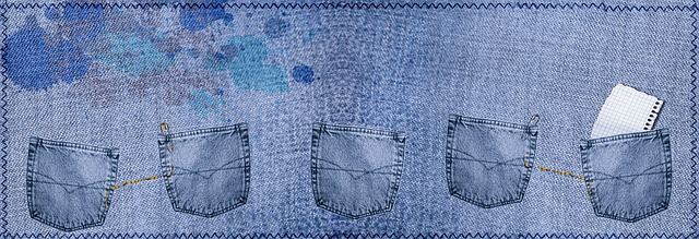 jeans taška