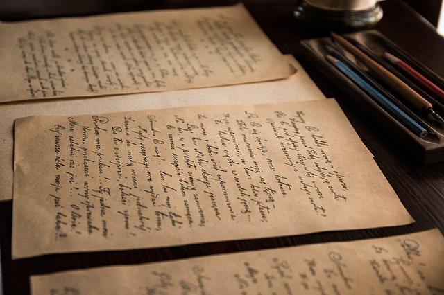 starý rukopis