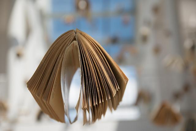 sušení knihy