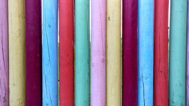 barevné laťky