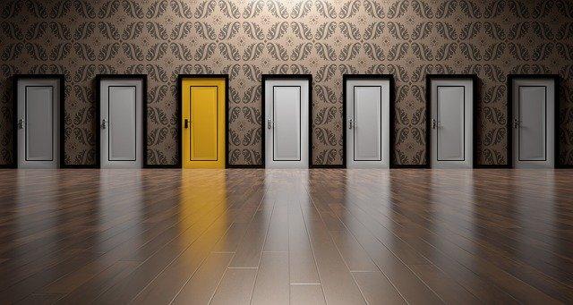 volba dveří